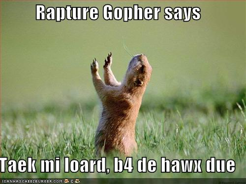 Rapture Gopher